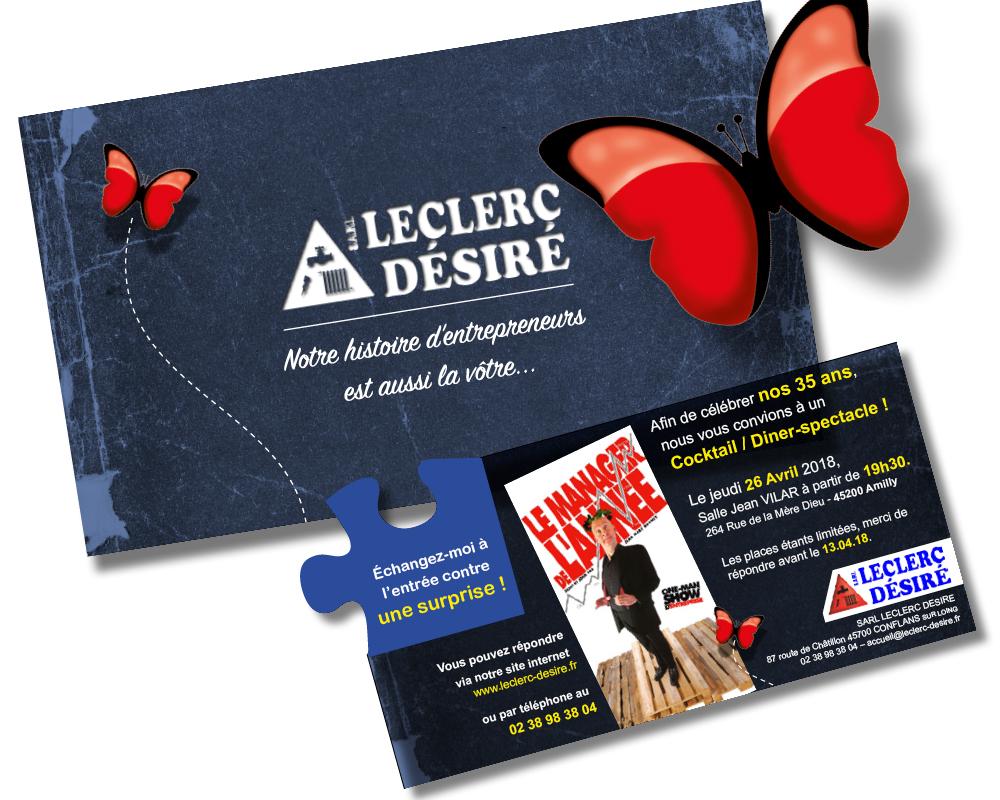 L'anniversaire de l'Entreprise Leclerc Désiré